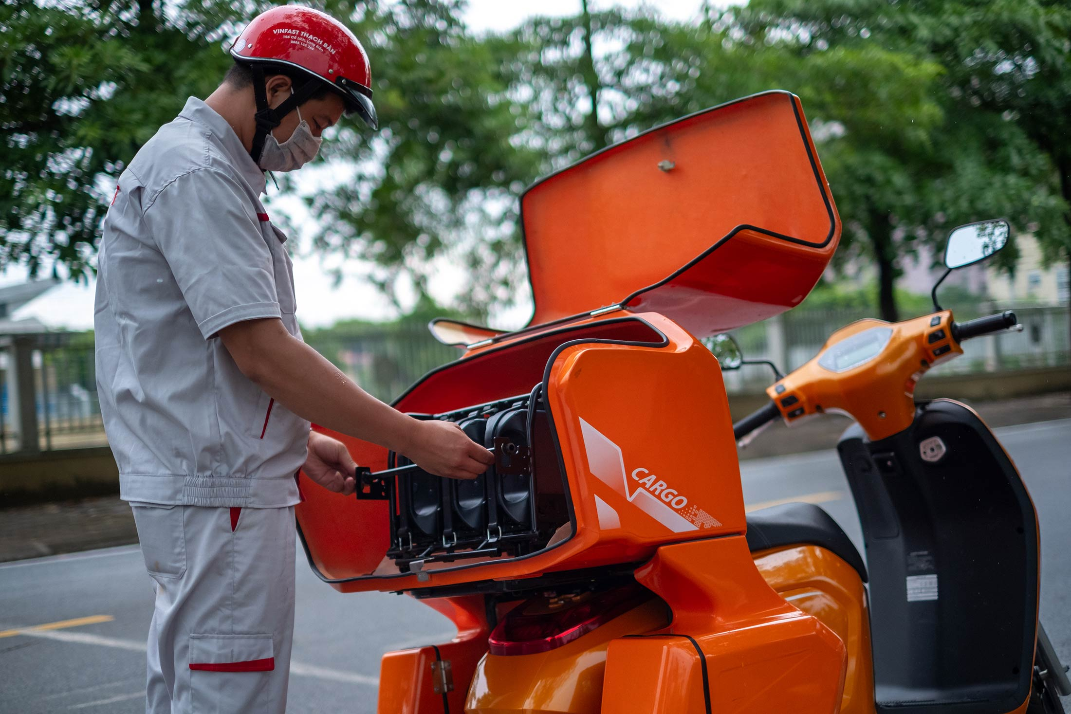 relates to A Billionaire Is Bringing Electric Motorbikes to Vietnam