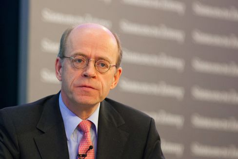 Munich Re CEO Nikolaus von Bomhard
