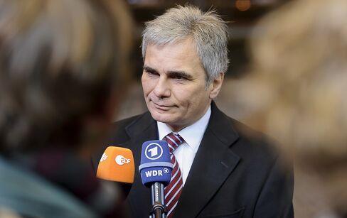 Chancellor Werner Faymann