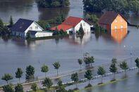 Floods Hit Germany: Northern Elbe River Region