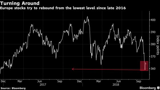 Europe's Equity Rebound Turns to Gloom Again, Thanks to the U.S.