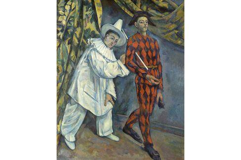 Paul Cézanne, Mardi Gras (Pierrot et Arlequin), 1888-90.