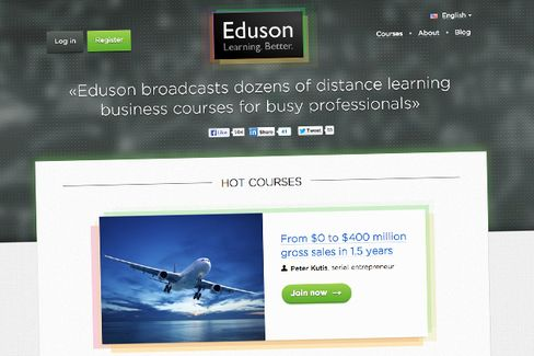 MOOC Newcomer Offers Online Business Courses Taught by Pros, Not Profs