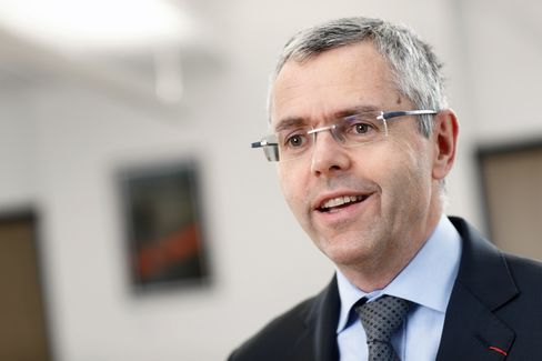 Alcatel-Lucent CEO Michel Combes