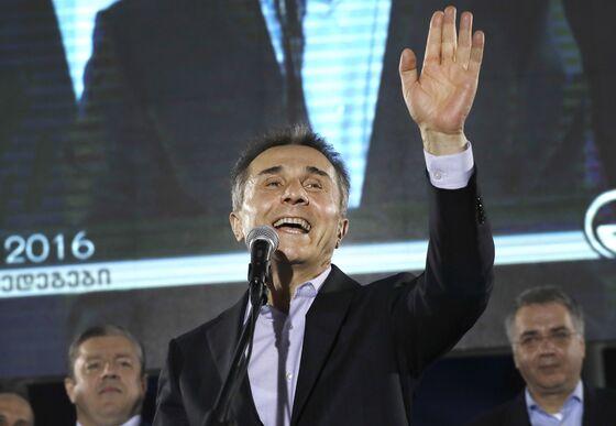 Georgia Billionaire Seeks Third Election Win Amid Currency Woe