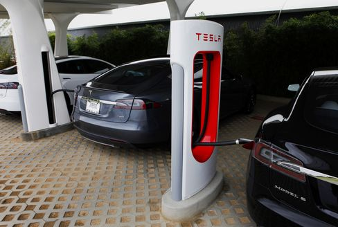 Tesla's Model S Vehicle