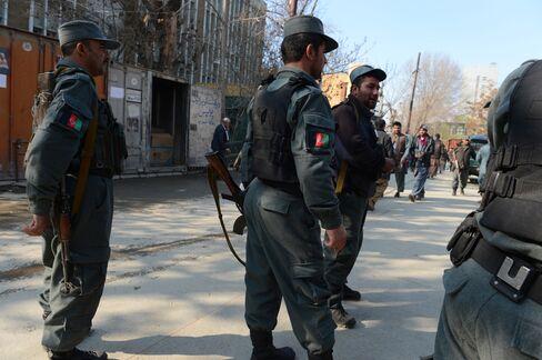 Afghan Policewoman Kills U.S. Security Adviser in Kabul Shooting