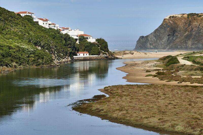 Portugal, côte atlantique, Algarve, plage Praia de Odeceixe