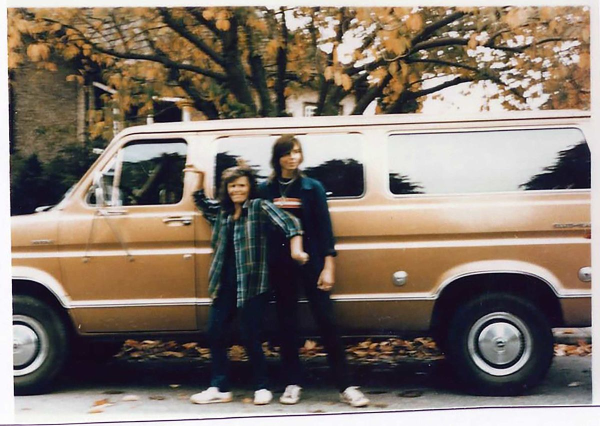 11ea4d5f3c Tanya Van Cuylenborg and Jay Cook with the van they drove to the U.S. It  was found locked and abandoned in Bellingham