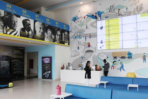 Flipkart domicile in Bangalore.