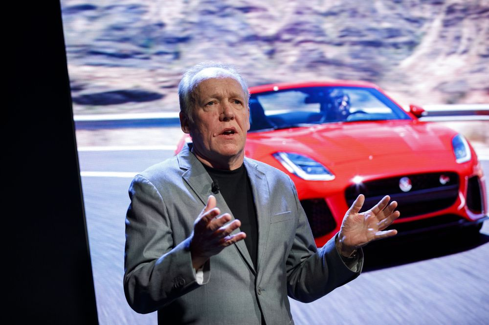 Jaguar Design Guru Gets a Tad Touchy About Big Screens in Cars