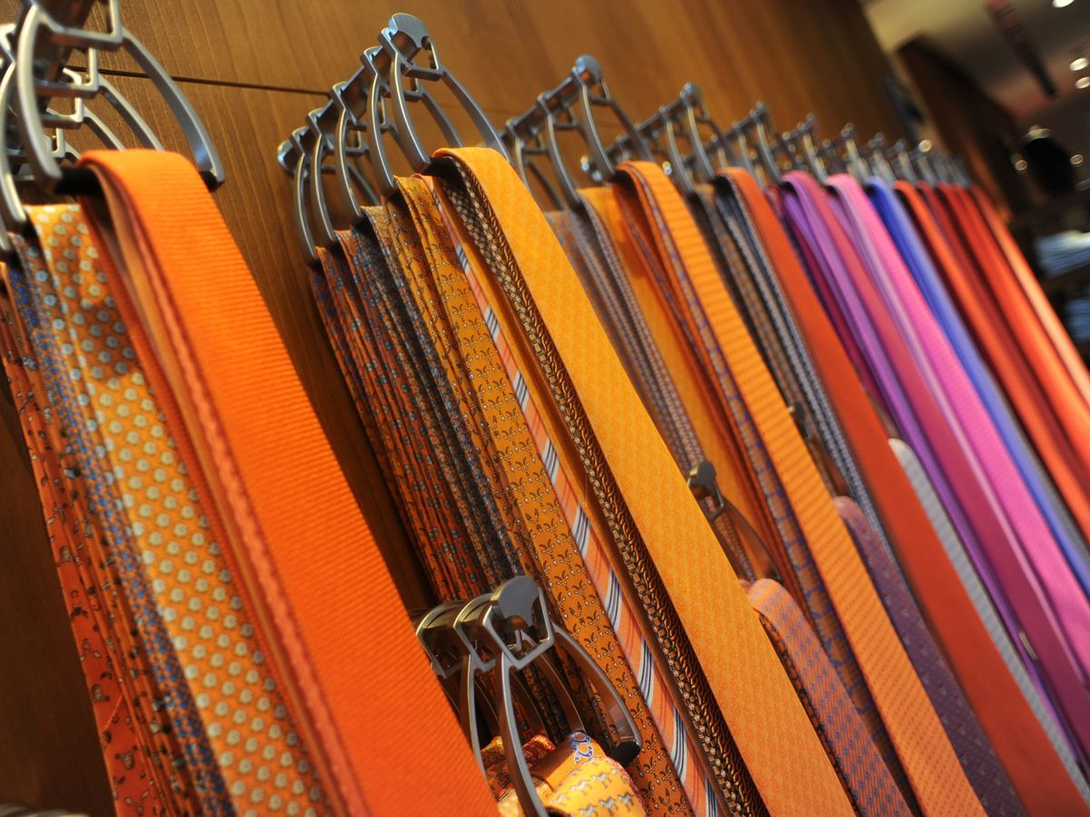 Hermes Faces a Long, Slow Demise for the $195 Necktie