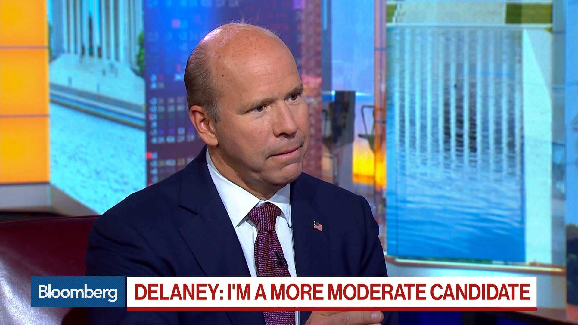 We're in a Perfectly Good Position to Compete Against Anyone, Presidential Candidate Delaney Says