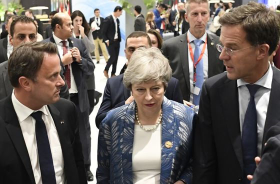 Europe IsJust Glad May Didn't Shoot Herself in the Foot Again