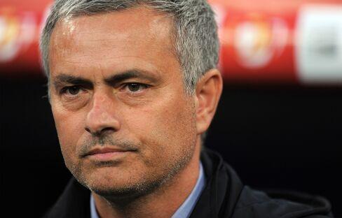 Soccer Coach Jose Mourinho