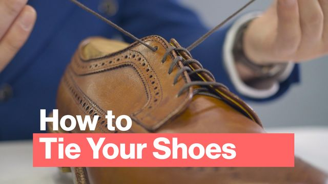 d320d5a41f7a How to Tie Your Shoes and Lace Your Shoes the Best Way - Bloomberg
