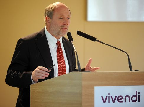 Outgoing Vivendi CFO Philippe Capron