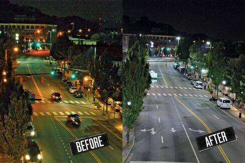 Chattanooga's Radio-Operated Streetlamps