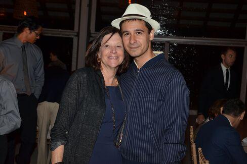 Karen Brooks Hopkins and Jonah Bokaer