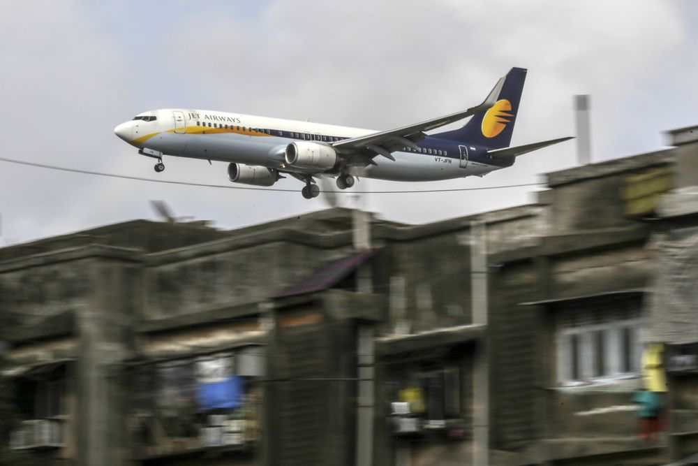 Jet Airways Fails to Pay Interest to Etihad-Linked Entity