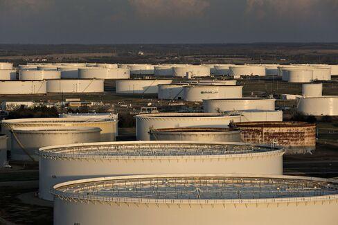 U.S. Crude Stockpiles