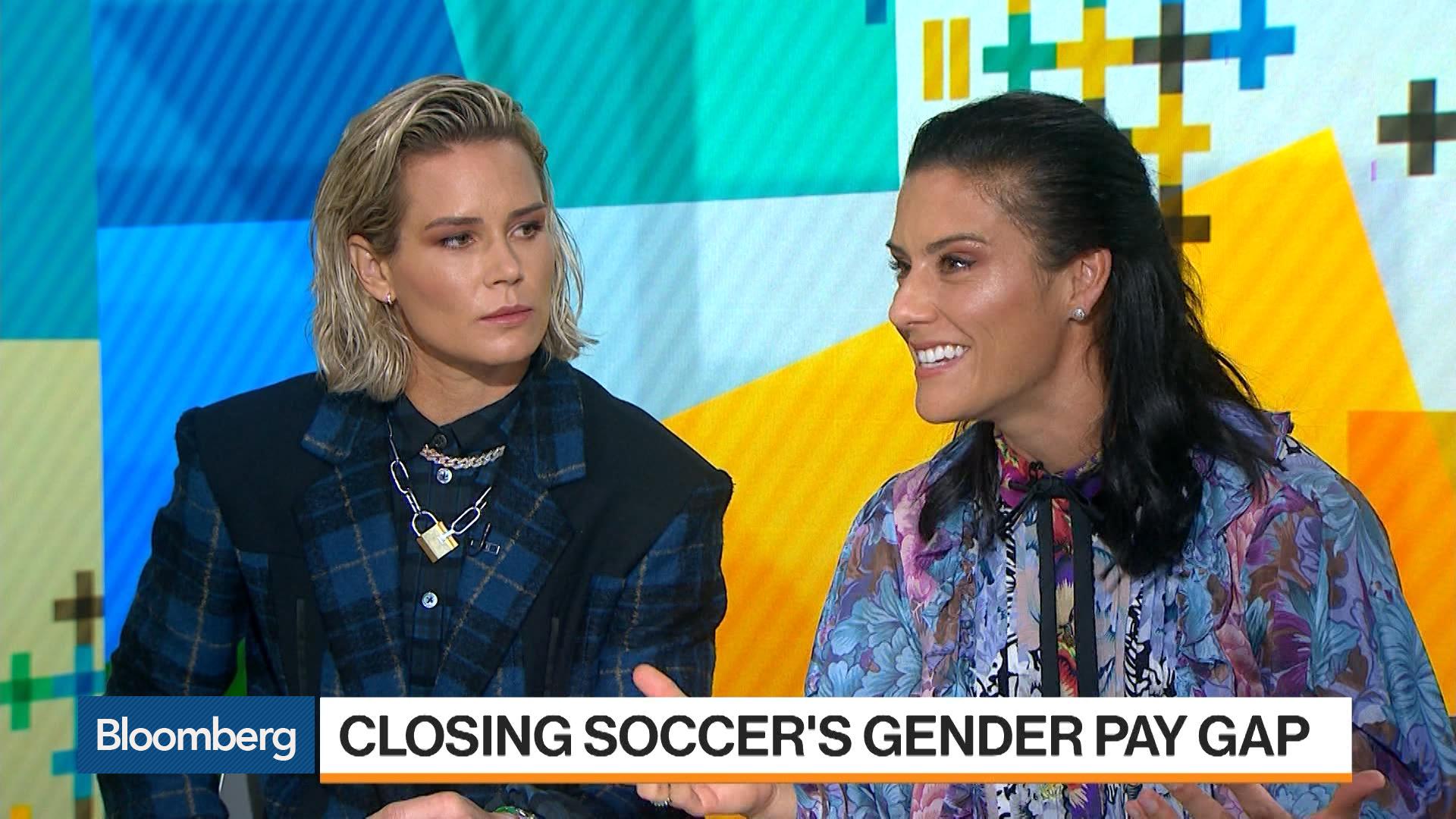 Ashlyn Harris, Ali Krieger on Soccer's Gender Pay Gap