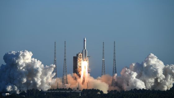 China Rocket Launch Brings Space Station Ambitions Closer
