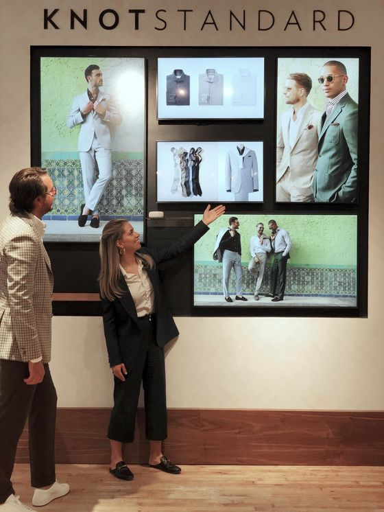 The Old Tailor Shop Goes Digital, With a Store Personalized Just for You