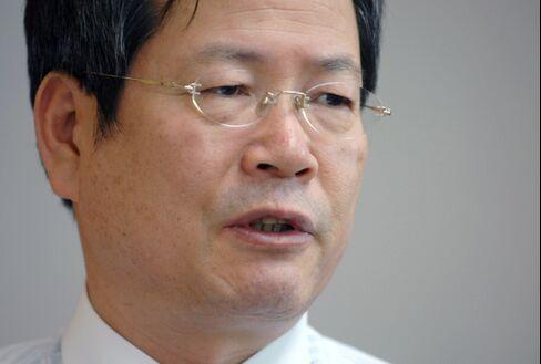 South Korean Senior Presidential Secretary Chun Yung Woo