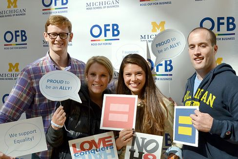 Ross Leads Challenge to Find the B-School Most Supportive of LGBT Community