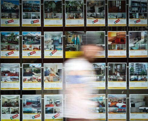 Australian House Prices Fall as Higher Rates Weaken Demand