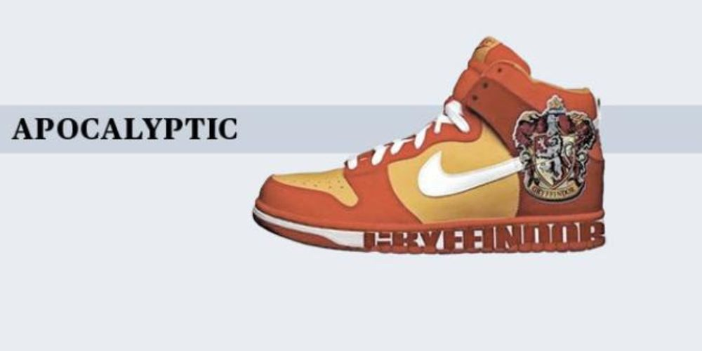 best service 99dab ffca2 harry potter nike dunks for sale