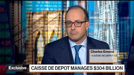 Quebec Pension's Emond Says Inflation 'Transitory'