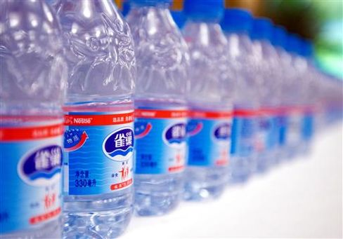 Nestle Taps China Water Thirst as West Spurns Plastic