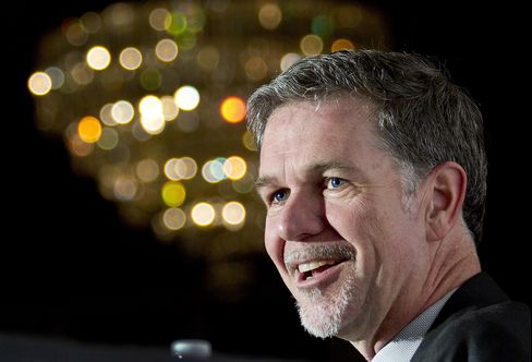 Netflix Inc. Chairman and Chief Executive Officer Reed Hastings