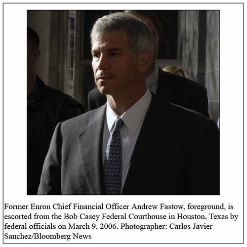 Former Enron Chief Financial Officer Andrew Fastow