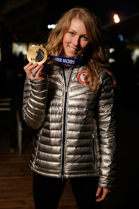 Gold Medalist Mikaela Shiffrin