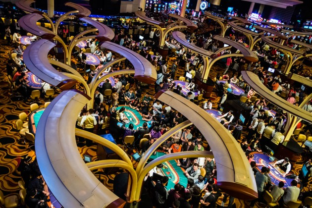 Legalized gambling in china