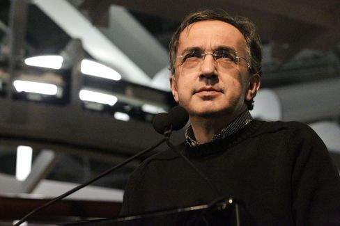 Chrysler Group CEO Sergio Marchionne