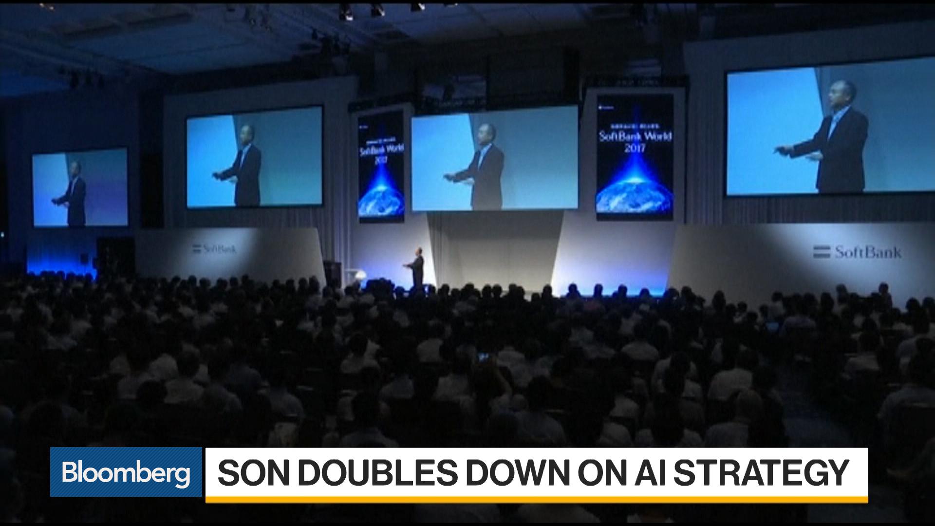 SoftBank Plans Second AI Venture Fund