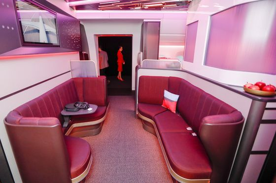 Virgin's Famed Cocktail Bars Are Gone From Its Newest Airbus Jets