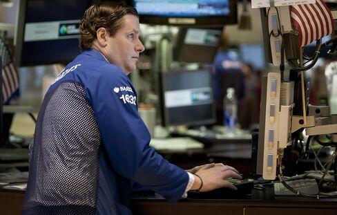 U.S. Stocks Erase Losses