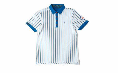 Chicago Cubs-like golf shirt