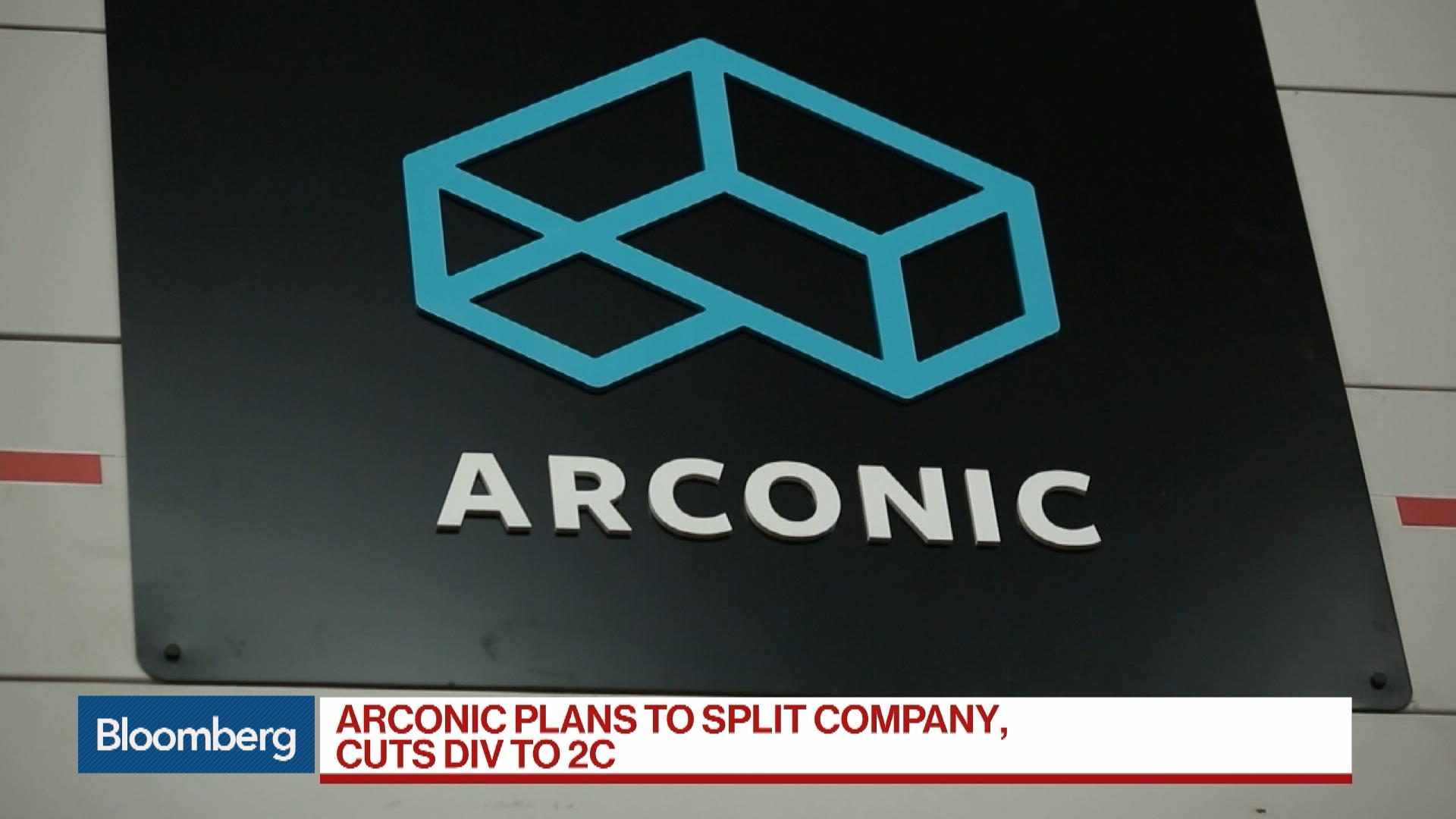 Arconic to Break Up, Cut Dividend as New CEO Reveals Revamp