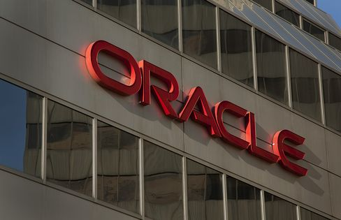 Oracle Reports Fourth-Quarter Profit Rose to 82 Cents a Share