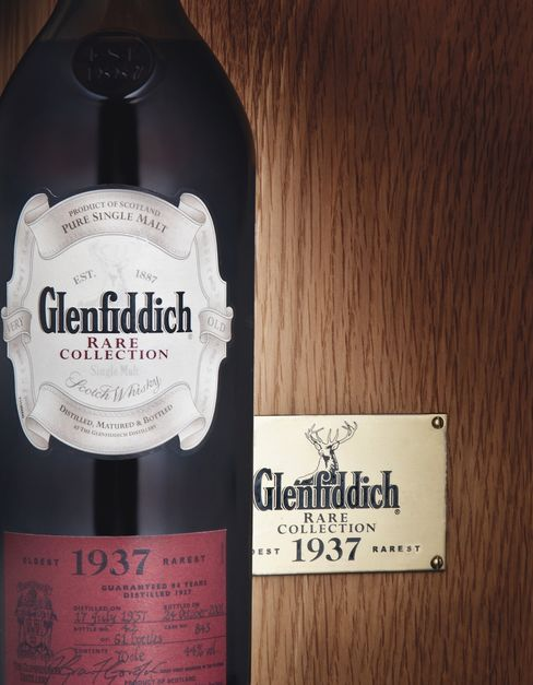 Glenfiddich Rare Collection Bottle