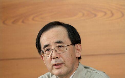 Governor of the Bank of Japan Masaaki Shirakawa