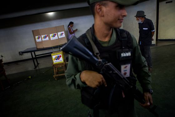 Venezuela's Polling Places Are Deserted. But They're Still Open