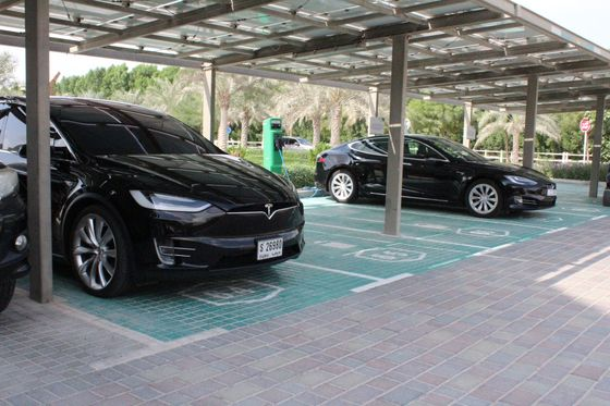 Who Drives Electric Cars in Dubai? The Government and the Rich