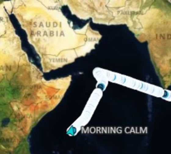 Car Carrier Heads Back Toward Suez Canal After Double U-Turn